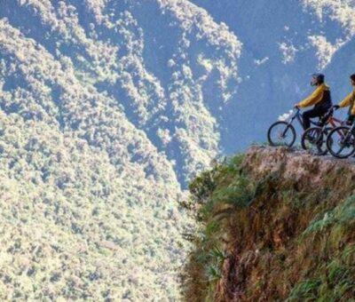Biking On The Deadliest Bike Path On Earth: how it's Feel?